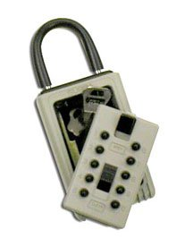 Supra Push Button Portable Key Lock Box 1404 - Combination