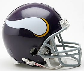 Minnesota Vikings 1961-79 Throwback Replica Mini Helmet W Z2B Mask by Hall of Fame Memorabilia