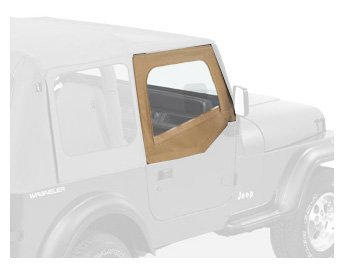 Bestop 53120-37 Spice Fabric Replacement Upper Door Skin Set For 88-95 Wrangler Yj