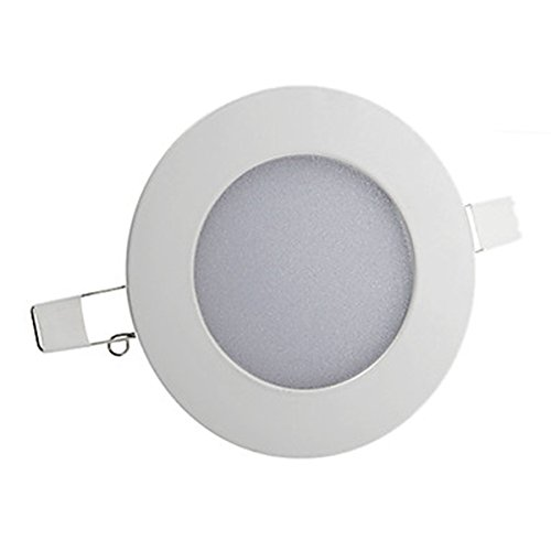 Generic 8W 2835Smd 600Lm Cri>80 3000K Warm White Light Led Ceiling Light(Ac 85-265V)