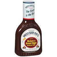 Sweet Baby Ray's Hickory & Brown Sugar Barbecue Sauce - 18 oz