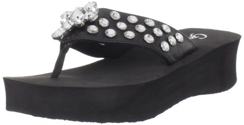 Grazie Women'S Kitty Sandal,Black,8.5 B Us front-558997