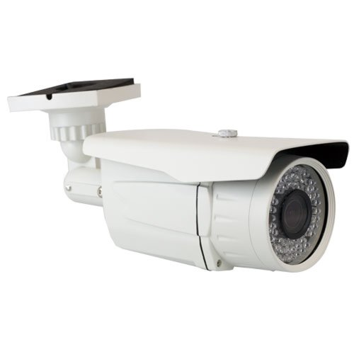 """Professional 700Tvl Bullet Outdoor Security Camera - 700 Tv Lines 1/3"""" Sony Exview Had Ccd Ii With Effio-E Dsp Devices, 2.8~12Mm Varifocal Lens, 72Pcs Ir Led. Great For Surveillance Video Cctv System (White)"""