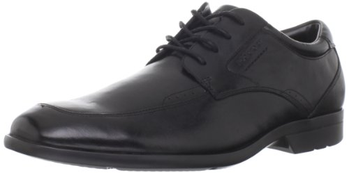 Rockport Men's Bl Moctoe Leather Black Lace Up K62740 14.5 UK