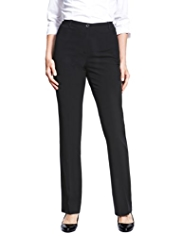 Plus 2 Welt Pocket Straight Leg Trousers