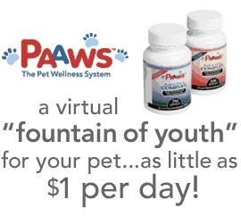 Paaws Dog Vitamins: Dogs 1-6 Years Old, Under 35Lbs, 1 Year Supply