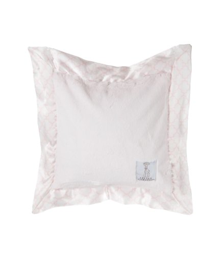 "Little Giraffe Luxe Moroccan Pillow, Pink, 14"" x 14"""