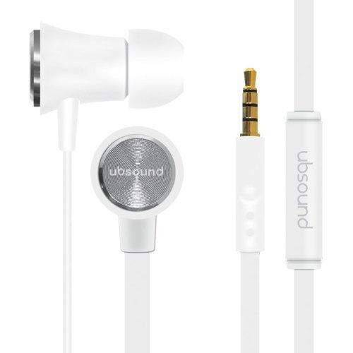 ubsound-fighter-cuffia-auricolare-stereo-scocca-in-alluminio-bianco