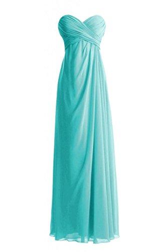 Daisyformals Floor Length Sweetheart Bridesmaid Dress(Bm7712)- Tiffany Blue