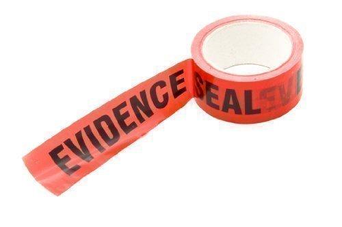 Ruban adhésif preuve scientifique Evidence Seal rouleau