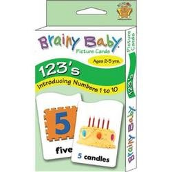 Brainy Baby 123 Flashcards - 1