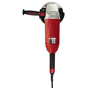 Milwaukee 6088-30 7-Inch/9-Inch Large Angle Grinder with Lock-On by Milwaukee