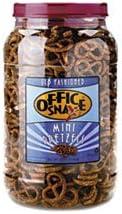 Pretzel Assortment Old Fashioned Mini-Pretzel Twists 40 oz Tub