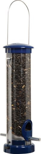 Aspects 408 Quick-Clean Seed Tube Feeder, Small - Blue