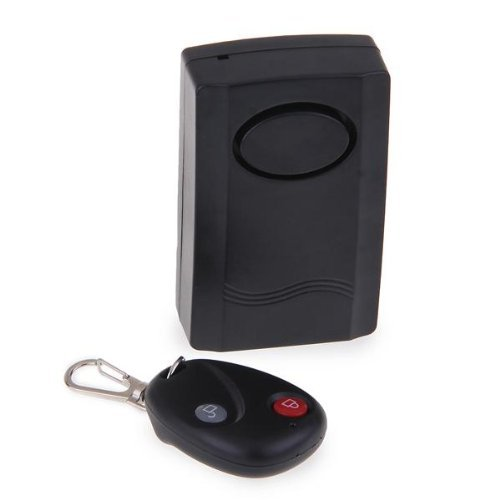 Alarm - SODIAL(R) Vibration Alarm with Remote Control for Door Window Wireless