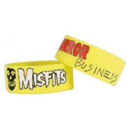 31NzGeB5SEL Cheap Price Misfits 1 Wide Silicone Bracelet HORROR BUSINESS
