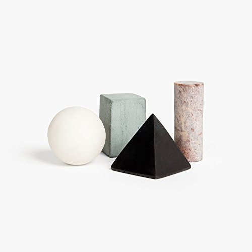 Drink Rocks - Set of 4 - Shapes by Runa Klock for Areaware