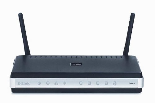 D-Link DIR-615 Wireless-N Router, 4-Port