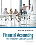 img - for By Porter/Norton Bundle: Financial Accounting: The Impact on Decision Makers, 9th + Cengagenow Printed Access Card, 9 [Paperback] book / textbook / text book