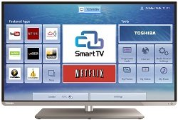 Toshiba 40L5453DB (40 inch) Smart 3D LED Television 300cd/m2 1920 x 1080 (Black)