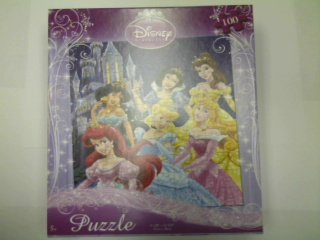 Cheap Fun Disney Princess 100-Piece Jigsaw Puzzle (Six Princesses by the Castle) (B0039K7BHS)