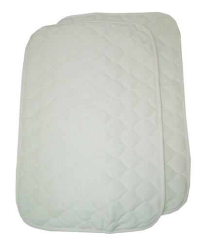 American Baby Company Organic Waterproof Quilted Lap and Burp Pad Cover