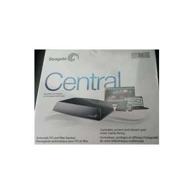 Seagate Stcg3000600 3tb External Hard Drive Central Shared Storage Backup