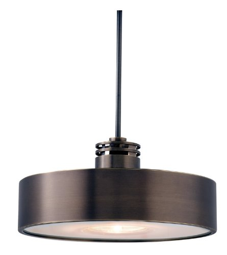 B00288C1U4 LBL Lighting HS381BZ1A50MPT Hover Low Voltage Pendant, Bronze Finish