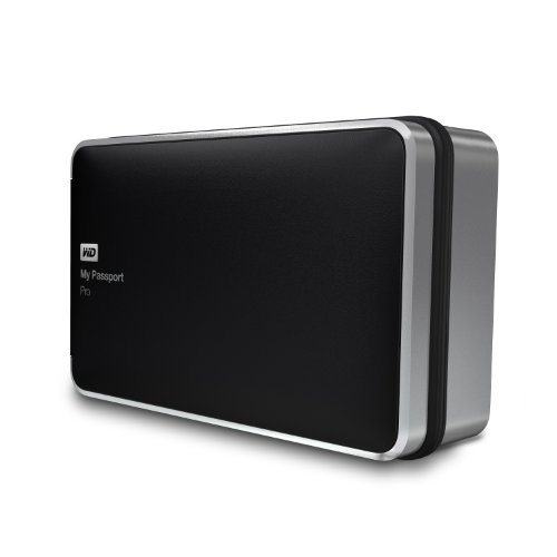WD 4TB  My Passport Pro Portable  External Hard Drive  - Thunderbolt  - WDBRNB0040DBK-NESN primary