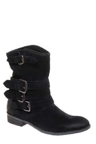 Matisse Forward Low Heel Mid Calf Boot - Black