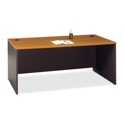 Bush Series C Collection 72W Desk Shell, Natural Cherry (Bush Natural Cherry compare prices)