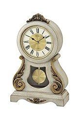 SeikoClock Mantel Musical Cream Dial clock #QXW220BLH