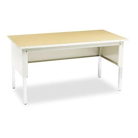 Mayline TB60PG - Kwik-File Mailflow-To-Go Mailroom System Table, 60w x 30d x 36h,Birch/PblGray