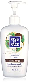 Kiss My Face Coconut Hand Soap 9 Ounce