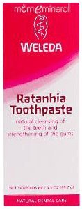 Pink Toothpaste with Ratanhia 3.3oz by Weleda Body Care