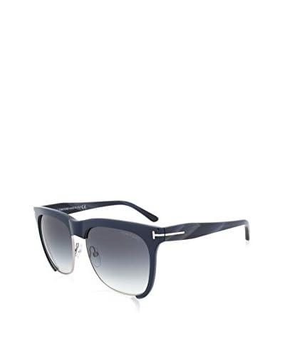 Tom Ford Thea Sunglasses, Gunmetal/Blue