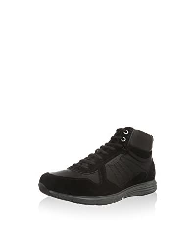 Geox Hightop Sneaker Uomo Dynamic C schwarz