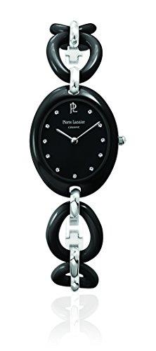 Pierre Lannier - 024H939 - Elegance Ceramique - Montre Femme - Quartz Analogique - Cadran Noir - Bracelet Céramique Noir