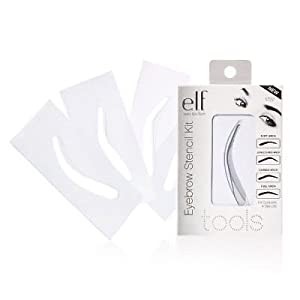 E.L.F. Essentials EYEBROW STENCIL KIT #1722 Brow Makeup Applicator Eye ELF