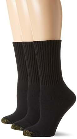 Gold Toe Women's 3 Pack Ultratec Crew Socks at Amazon ...