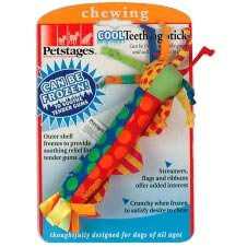 Petstages Cool Teething Stick Dog Toy Puppy Play Pets