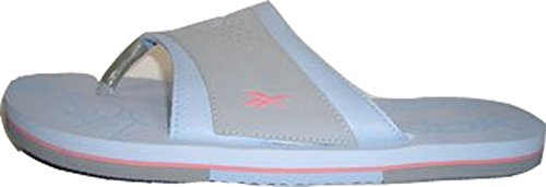 Reebok Honalee Badelatschen spiaggia scarpe INFRADITO 143375 azzurro-grigio - Rosa misura 37, 5/Stati Uniti 7/UK 4,5/24 cm