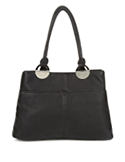 M&S Collection Double Pockets Handbag
