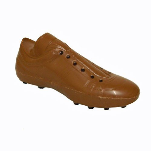 Chocolate Football Boot - Great Gift For Men - Milk Chocolate Shoe Crafted to Look Like Footballer's Boot - Soccer boots with studs
