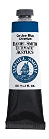 Daniel Smith 60ml Ultimate Acrylic Paint Tube Cerulean Blue