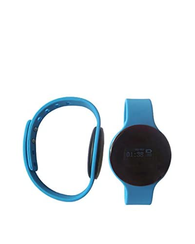 Bluetooth Smartwatch with Silicone Strap, Blue