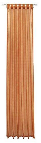 Pierre Cardin 6117X 830X 368tenda, tenda con passanti, 245x 140cm, arancione
