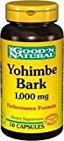 Yohimbe Bark 1,000 mg Good N Natural 50 Caps