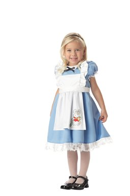 Alice in Wonderland kids Costume dress