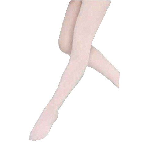 Comfortable Panty-Hose Ballet Dancing Leggings Bare Sole Stocking Candy Red